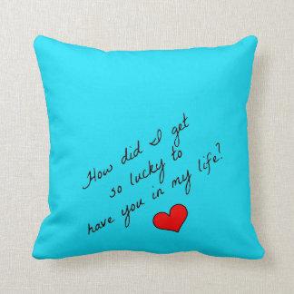 Almofada Travesseiro afortunado