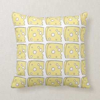 Almofada Travesseiro amarelo de Foodie da comida da cunha