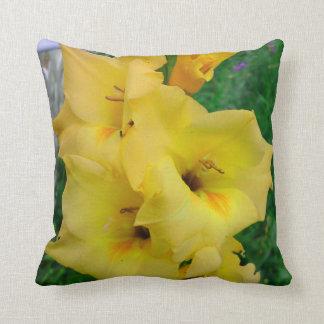 Almofada Travesseiro amarelo de Gladiola