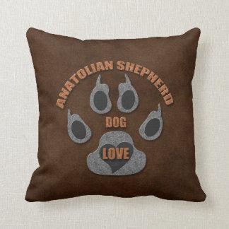 Almofada Travesseiro anatólio da raça do cão de pastor