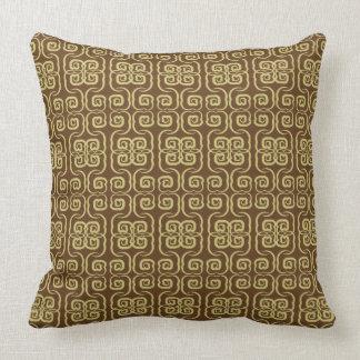 Almofada Travesseiro asiático do estilo do redemoinho