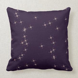 Almofada Travesseiro azul escuro e branco dos Squiggles
