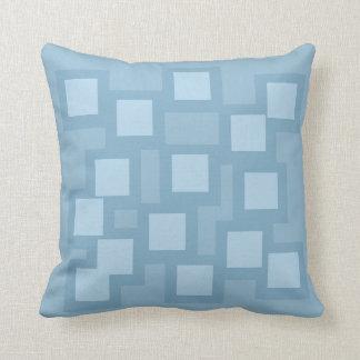 Almofada Travesseiro azul feliz/coxim