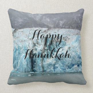 Almofada Travesseiro azul longo da geleira