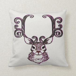 Almofada Travesseiro bonito da casa de campo dos cervos da
