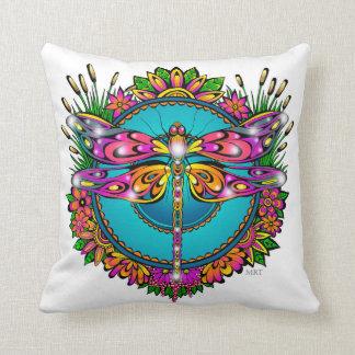 Almofada Travesseiro bonito da libélula