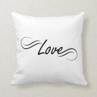 Almofada travesseiro bonito do amor