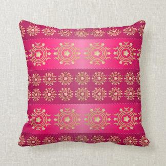 Almofada Travesseiro bonito do teste padrão do rosa e do