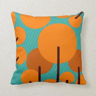 Almofada Travesseiro brilhante moderno do coxim das árvores
