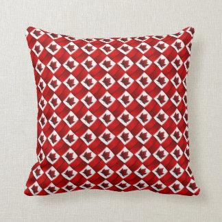 Almofada Travesseiro canadense da lembrança da bandeira do