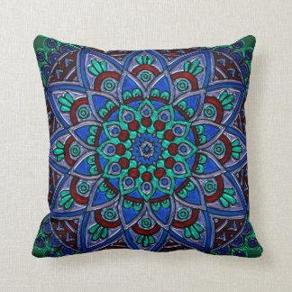 Almofada Travesseiro colorido bonito da janela de vitral