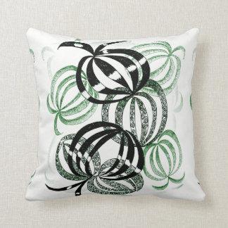 Almofada Travesseiro colorido do Bauble do verde do verão