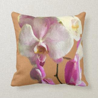 Almofada Travesseiro com design da orquídea