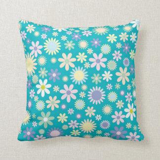 Almofada Travesseiro com flores