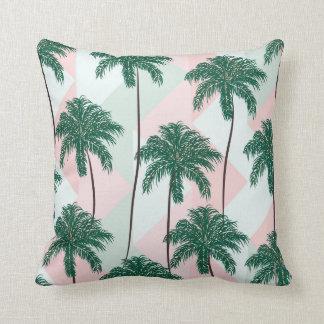 Almofada Travesseiro com teste padrão das palmeiras