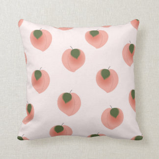 Almofada Travesseiro com teste padrão do pêssego