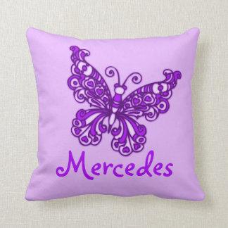 Almofada Travesseiro conhecido do coxim da borboleta das