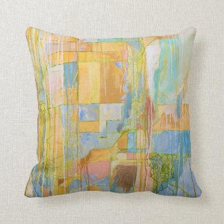 Almofada Travesseiro contemporâneo da arte abstracta