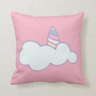 Almofada Travesseiro cor-de-rosa do unicórnio do berçário
