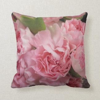 Almofada Travesseiro cor-de-rosa dos cravos
