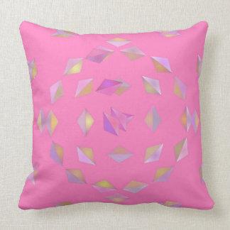Almofada Travesseiro cor-de-rosa dos diamantes