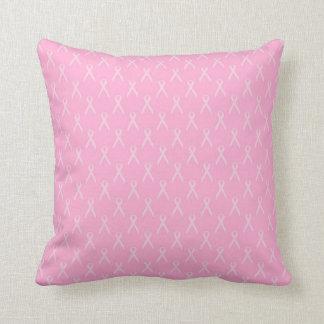 Almofada Travesseiro cor-de-rosa macio da fita