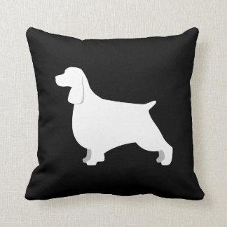 Almofada Travesseiro customizável do Spaniel de Springer
