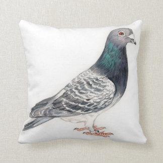 Almofada Travesseiro da arte do pássaro do pombo