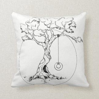 Almofada Travesseiro da árvore de máscara