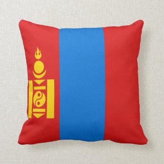 Almofada Travesseiro da bandeira da bandeira x de Mongolia