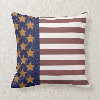 Almofada Travesseiro da bandeira dos Estados Unidos