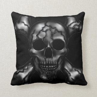 Almofada Travesseiro da chacina do crânio