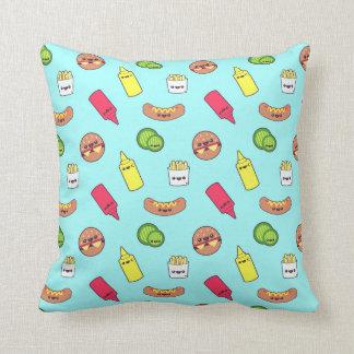 Almofada Travesseiro da comida de Kawaii