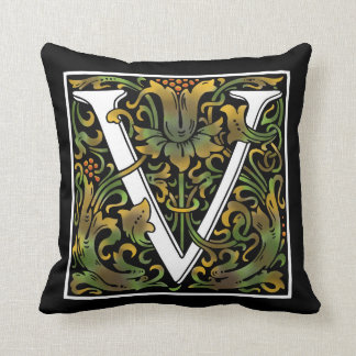 Almofada Travesseiro da cor do monograma V