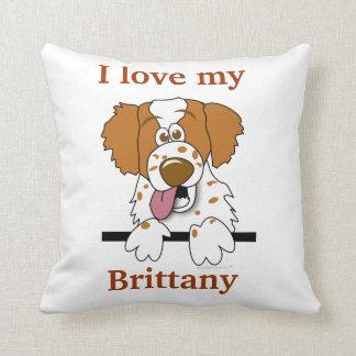 Almofada Travesseiro da decoração da casa do cão do Spaniel