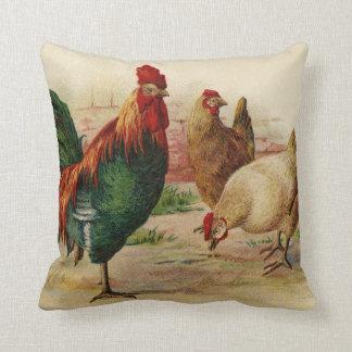 Almofada Travesseiro da decoração da casa do país do galo