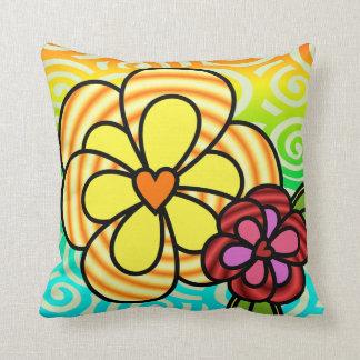 Almofada Travesseiro da flor da luz do sol