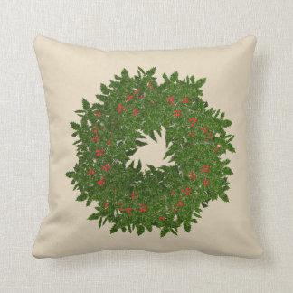 Almofada Travesseiro da grinalda do Natal