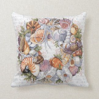 Almofada Travesseiro da grinalda do Seashell