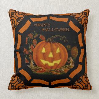 Almofada Travesseiro da Jack-O-Lanterna do Dia das Bruxas