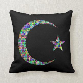 Almofada Travesseiro da lua e da estrela