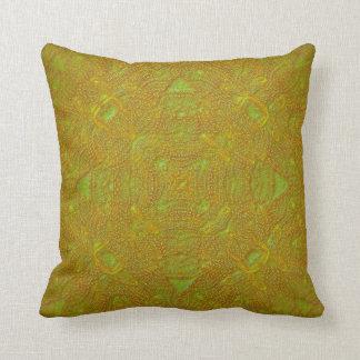 Almofada Travesseiro da mandala do citrino do Bas-Alivio