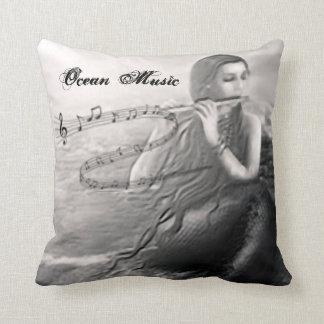 Almofada Travesseiro da música do oceano