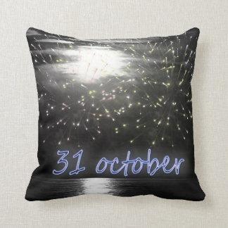 Almofada travesseiro da noite de 31's outubro
