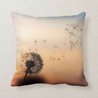 Almofada Travesseiro da noite do dente-de-leão