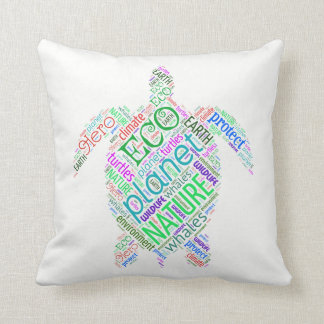 Almofada Travesseiro da sabedoria da tartaruga