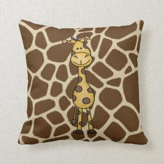 Almofada Travesseiro da selva do girafa