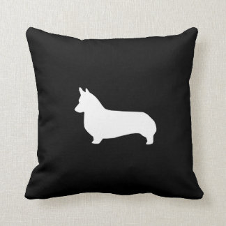 Almofada Travesseiro da silhueta do Corgi - design bonito