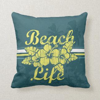 Almofada Travesseiro da vida da praia