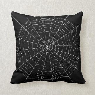 Almofada Travesseiro da Web de aranha do Dia das Bruxas